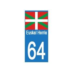 autocollant Euskal Herria...